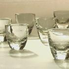和知篤司 吹きガラスの器とガラス絵展