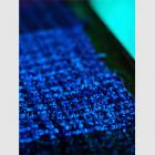さをり織り作品展「アオの織り」